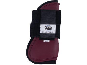 Ochraniacze treningowe Balotade Protege przednie bordowe